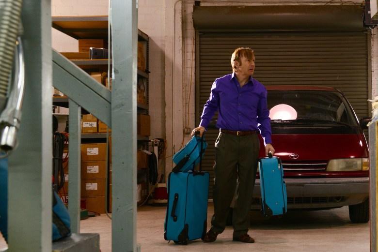 Saul Goodman (Bob Odenkirk) - Breaking Bad _ Season 5, Episode 15 - Photo Credit: Ursula Coyote/AMC