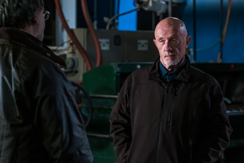 Jonathan Banks as Mike Ehrmantraut - Better Call Saul _ Season 4, Episode 5 - Photo Credit: Nicole Wilder/AMC/Sony Pictures Television