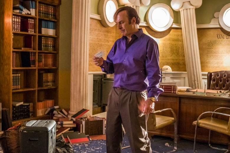 Bob Odenkirk as Jimmy McGill - Better Call Saul _ Season 4, Episode 5 - Photo Credit: Nicole Wilder/AMC/Sony Pictures Television