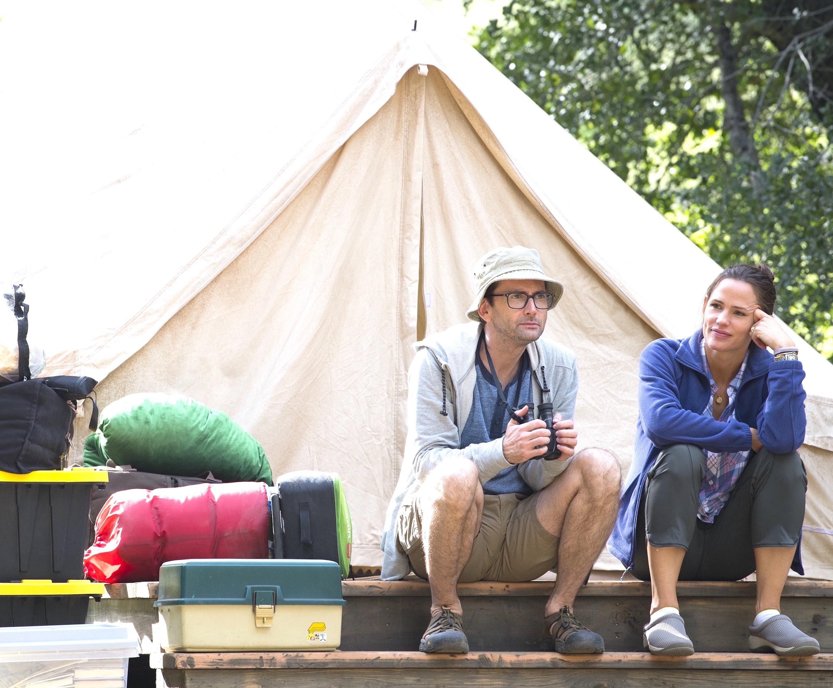 David Tennant and Jennifer Garner,