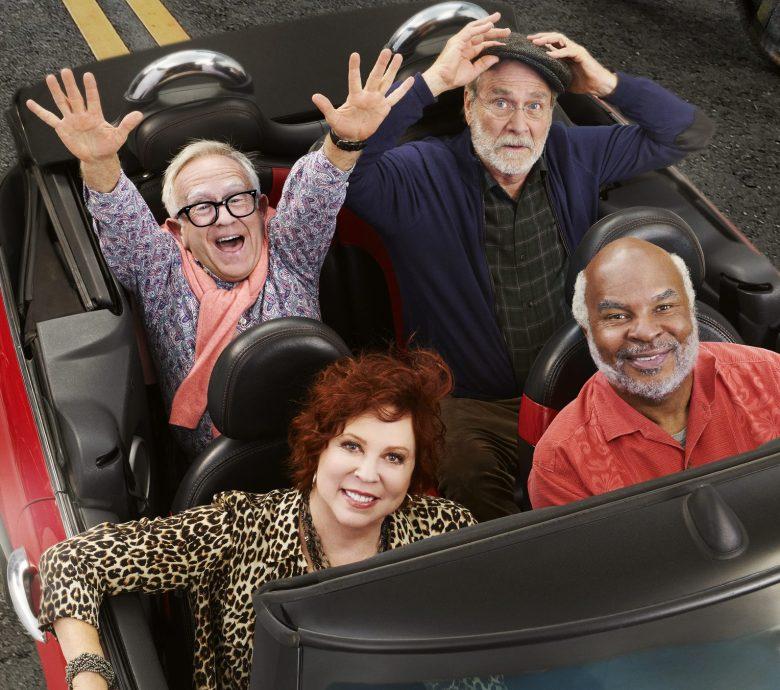 COOL KIDS: Clockwise from top left: Leslie Jordan, Martin Mull, Vicki Lawrence and David Alan Grier. COOL KIDS premiers Friday Sept. 28 (8:30-9:00 PM ET/PT) on FOX. ©2018 Fox Broadcasting Co. Cr: Pamela Littky/FOX