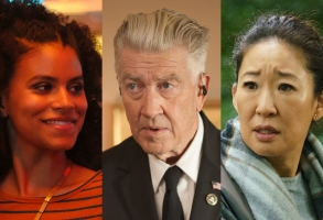 Zazie Beetz, David Lynch, and Sandra Oh Atlanta, Killing Eve, Twin Peaks