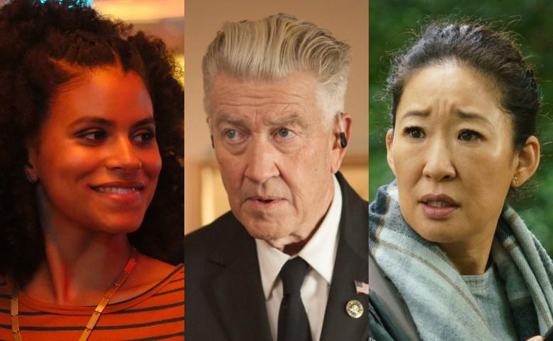 Zazie Beetz, David Lynch, and Sandra Oh Atlanta, Killing Eve, Twin Peaks