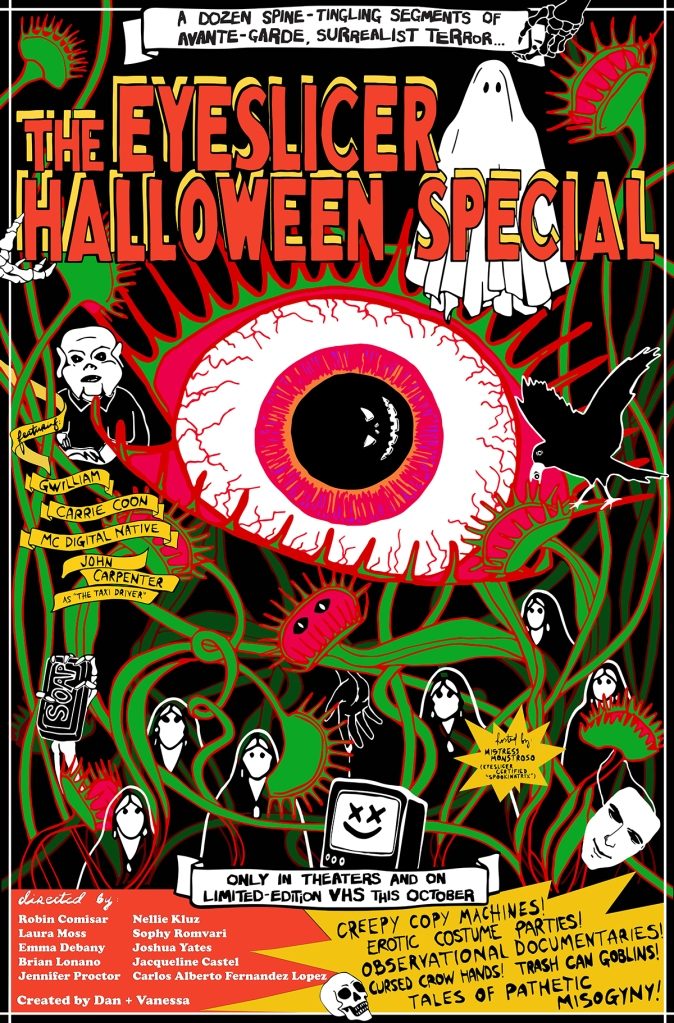 Eyeslicer Halloween Poster FINAL