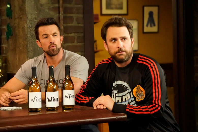 IT'S ALWAYS SUNNY IN PHILADELPHIA - Season 13.  Pictured: Rob McElhenney as Mac, Charlie Day as Charlie. CR: Patrick McElhenney/FX