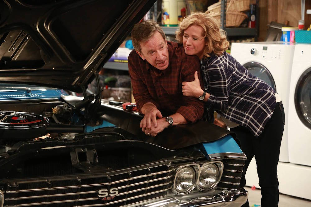 LAST MAN STANDING Season 7 Tim Allen and Nancy Travis in LAST MAN STANDING premiering Fridays 8:00-8:30 PM ET/PT this fall on FOX. ©2018 Fox Broadcasting Co. Cr: FOX