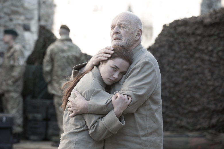 "Florence Pugh and Anthony Hopkins, ""King Lear"""