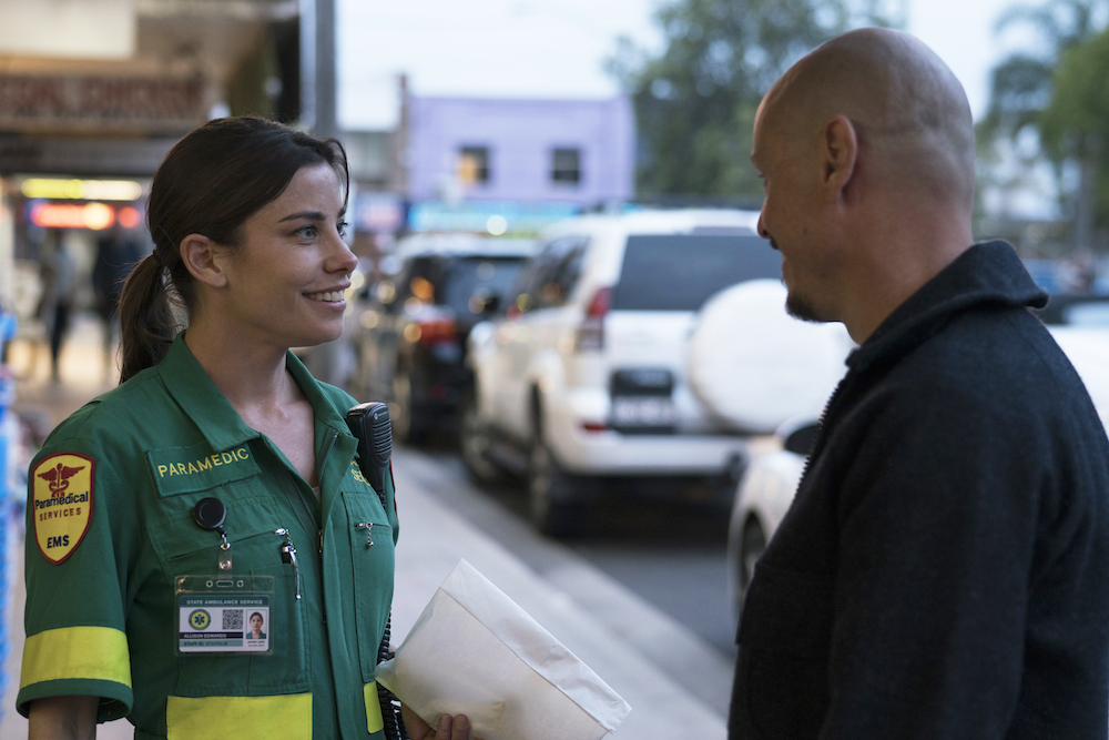 "MR INBETWEEN ""The Pee Pee Guy"" -- Season 1, Episode 1 (Airs Tuesday, September 25, 11:00 pm ET/PT) -- Pictured: (l-r) Brooke Satchwell as Ally, Scott Ryan as Ray Shoesmith"