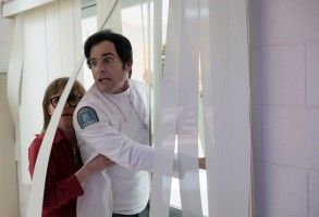 "Justin Theroux and Sally Field in ""Maniac"""