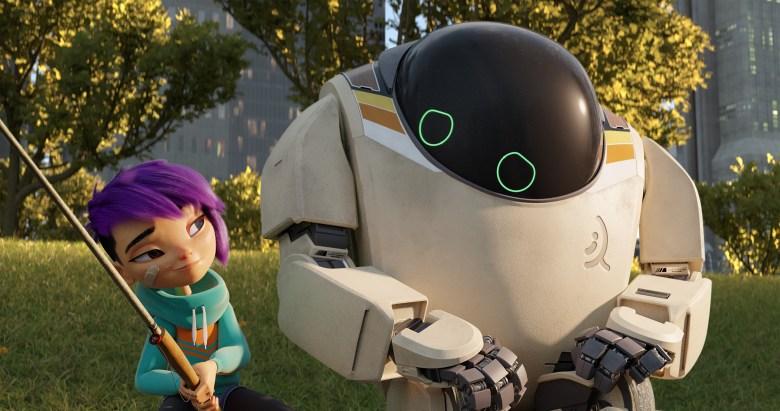 next gen netflix s animated pickup taps the sentient robot