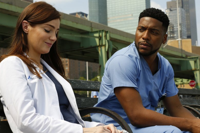 "Janet Montgomery and Jocko Sims, ""New Amsterdam"""