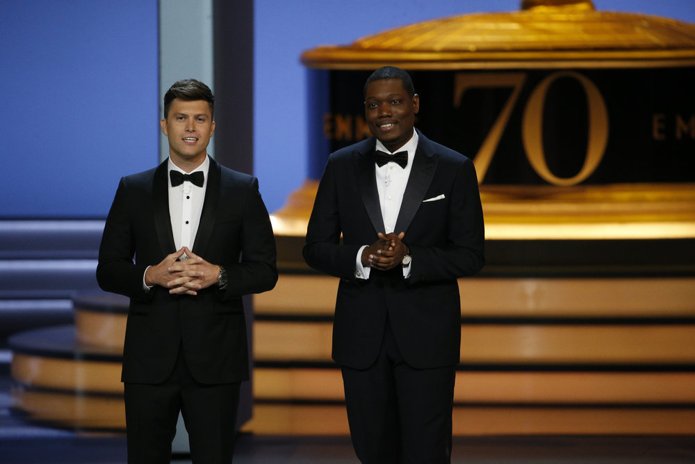 Michael Che Smears Journalist Who Wrote About 'SNL' Co-Star Colin Jost