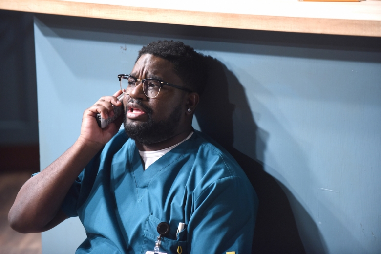 "REL: Lil Rel Howery in the special preview of the all-new ""Pilot"" episode of REL airing Sunday, Sept. 9 (8:00-8:30 PM ET/5:00-5:30 PM PT/LIVE to all time zones) on FOX.. ©2018 Fox Broadcasting Co. Cr: Ray Mickshaw/FOX"