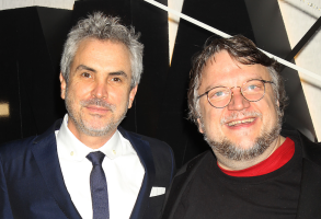 Alfonso Cuarón and Guillermo del Toro