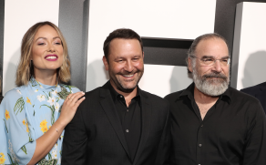 "Olivia Wilde, Dan Fogelman, and Mandy Patinkin at ""Life Itself"" Premiere"