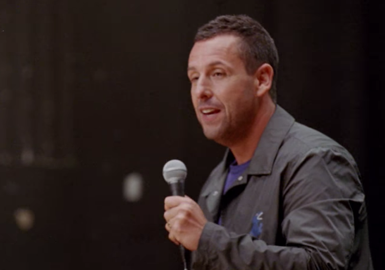 100% Fresh' First Look: Adam Sandler's Netflix Stand-Up Special