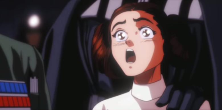 Star Wars A New Hope Anime Fan Trailer Watch Indiewire