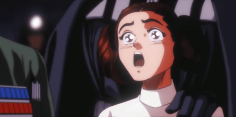 Star Wars anime