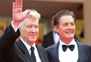 David Lynch and Kyle MacLachlan