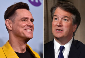 Jim Carrey and Brett Kavanaugh