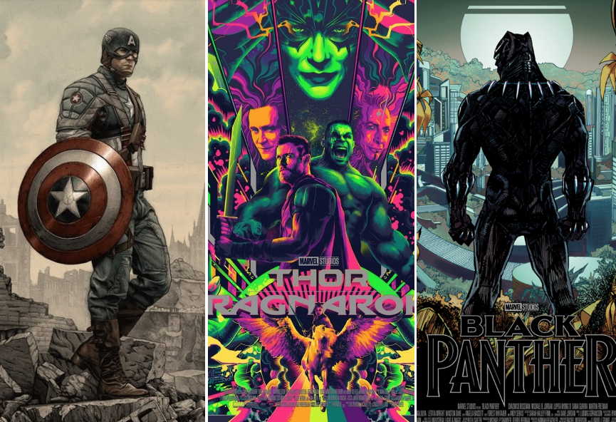 Marvel Movie Posters: Marvel And Mondo: 26 Posters That Define 10 Years Of The