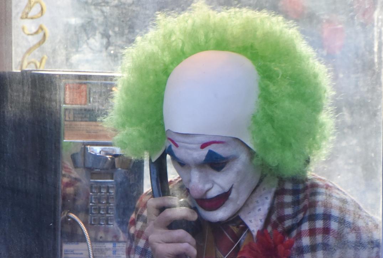 'Joker' Set Photos: Joaquin Phoenix Is One Terrifying Clown in Behind-the-Scenes Look at Todd Phillips' Film