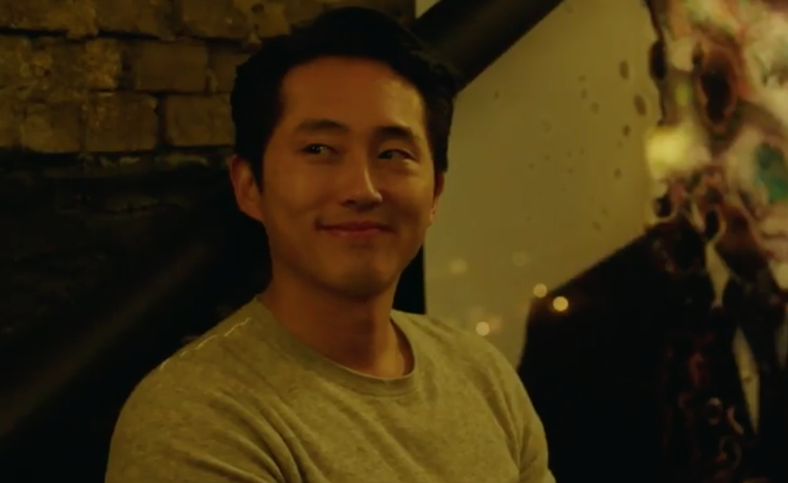 "Steven Yeun in ""Burning"""
