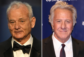 Bill Murray and Dustin Hoffman