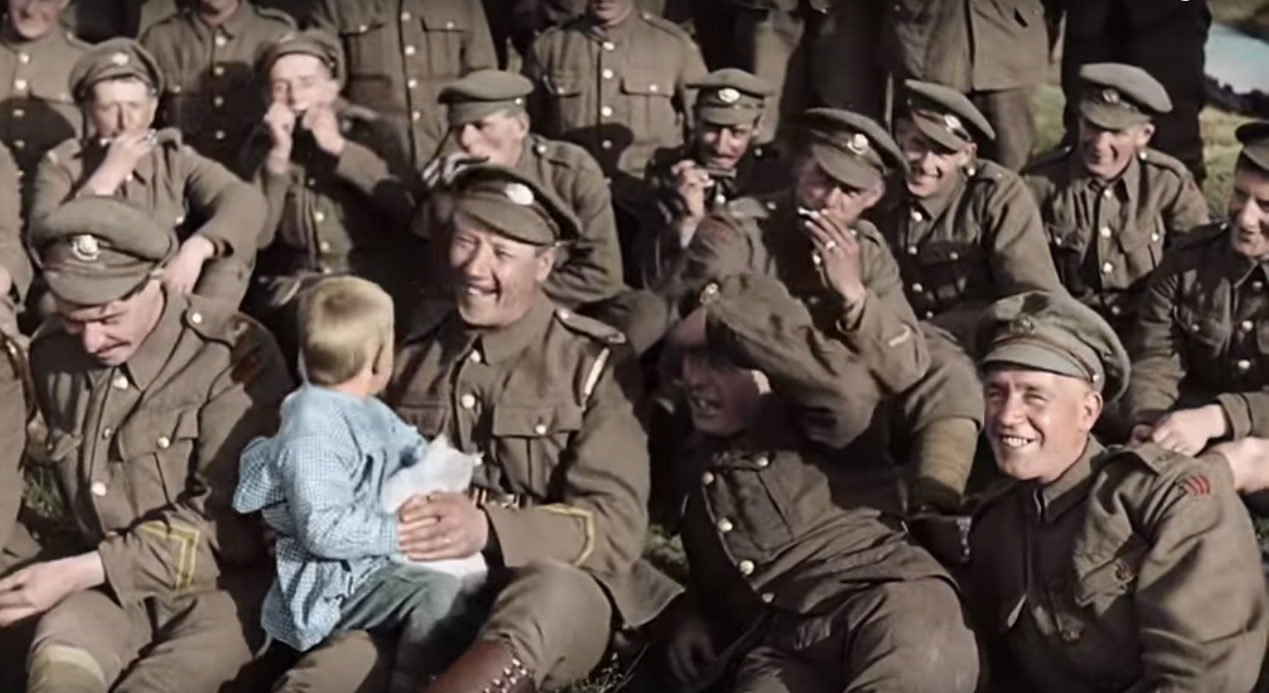 """They Shall Not Grow Old"""