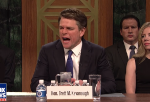 Matt Damon Brett Kavanaugh Saturday Night Live