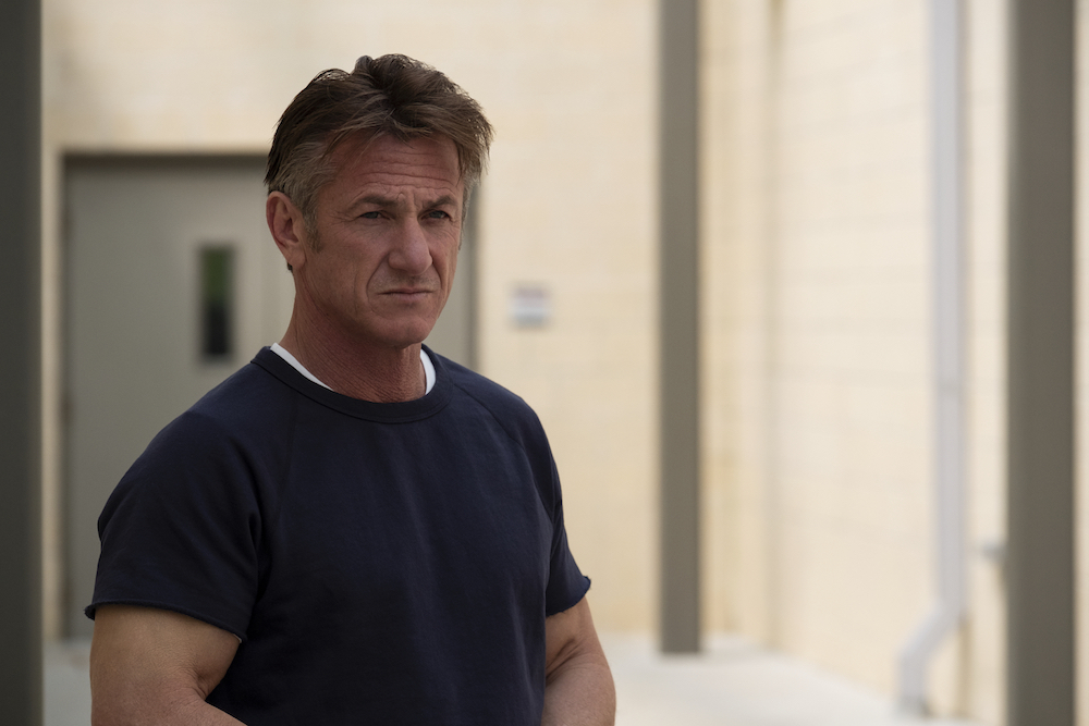 "The First -- ""Near and Far"" - Episode 108 - The crew of Providence 2 prepares to launch. Laz and Denise get ready for a new chapter in their lives. Tom Hagerty (Sean Penn), shown. (Photo by: Alan Markfield/Hulu)"