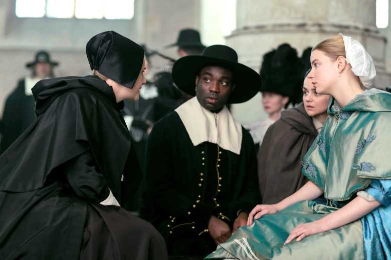 """The Miniaturist""MASTERPIECE on PBSSundays, September 9 - 23, 2018 at 9pm ETShown from left to right: Romola Garai as Marin, Paapa Essiedu as Otto, Hayley Squires as Cornelia and Anya Taylor-Joy as Nella(C) The Forge/Laurence Cendrowicz for BBC and MASTERPIECE"