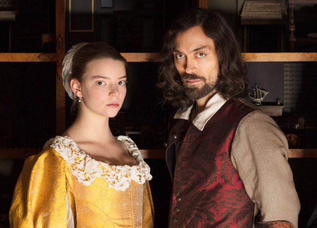 "Anya Taylor-Joy and Alex Hassell, ""The"
