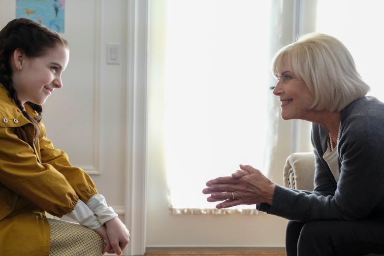 "Mckenna Grace and Patty McCormack, ""The Bad Seed"""