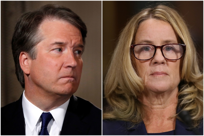 Image result for kavanaugh christine blasey ford