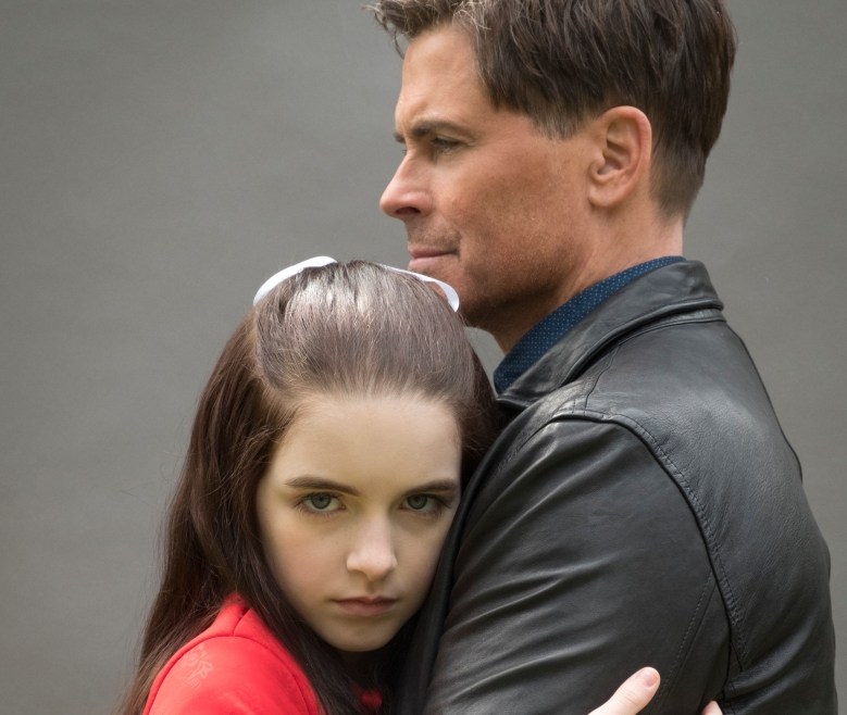 "McKenna Grace and Rob Lowe, ""The Bad Seed"""