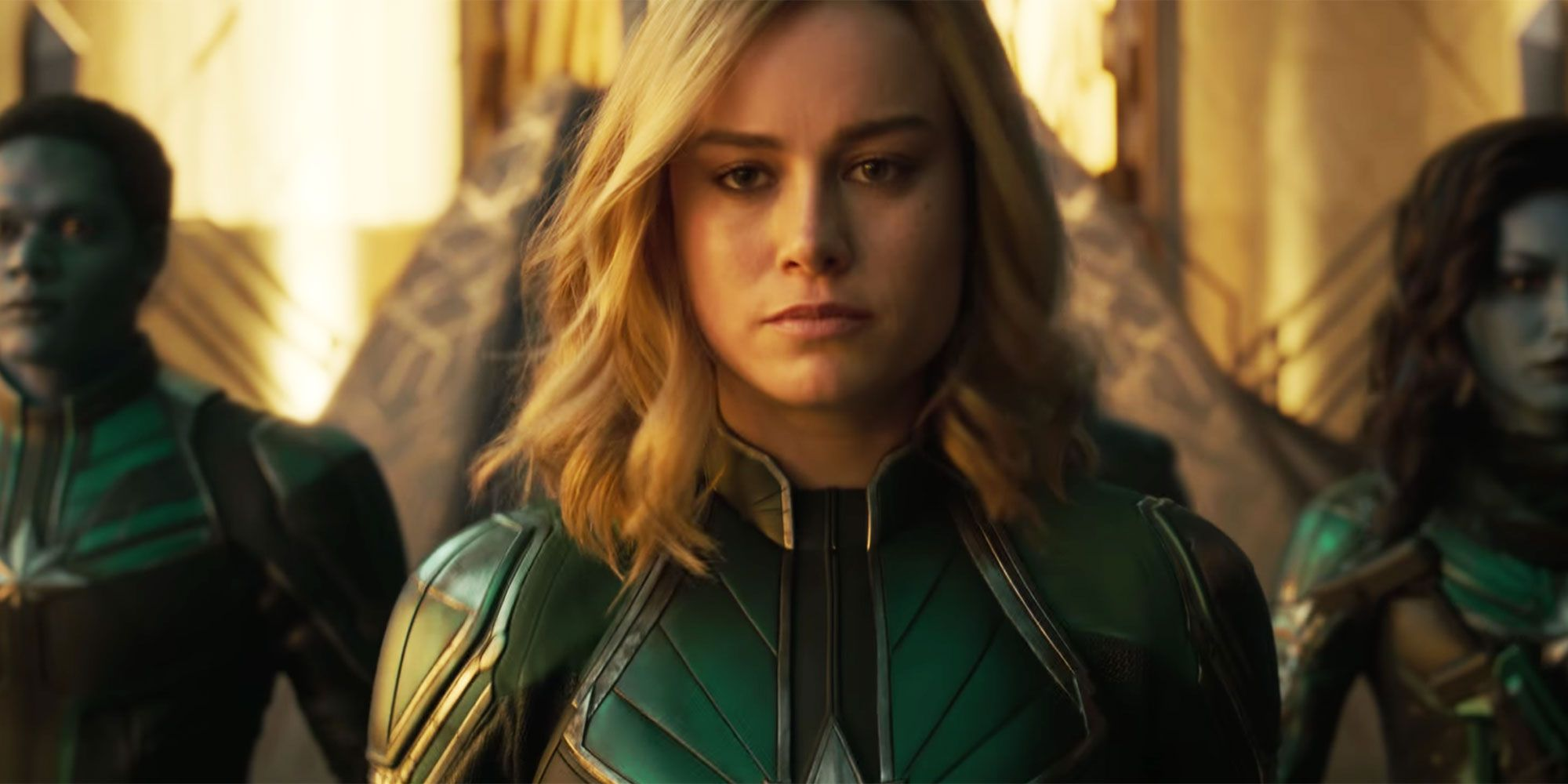 Brie Larson Heard Complaints That Captain Marvel Needs to Smile More, So She Posted MCU Men With Photoshopped Smiles