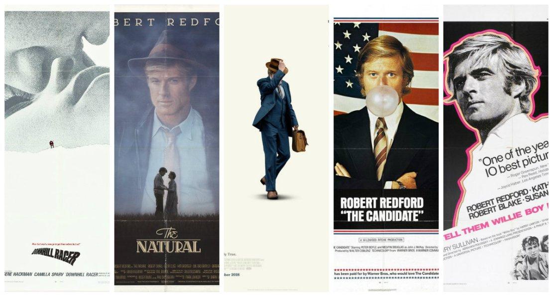Robert Redford's Acting Career in Movie Posters