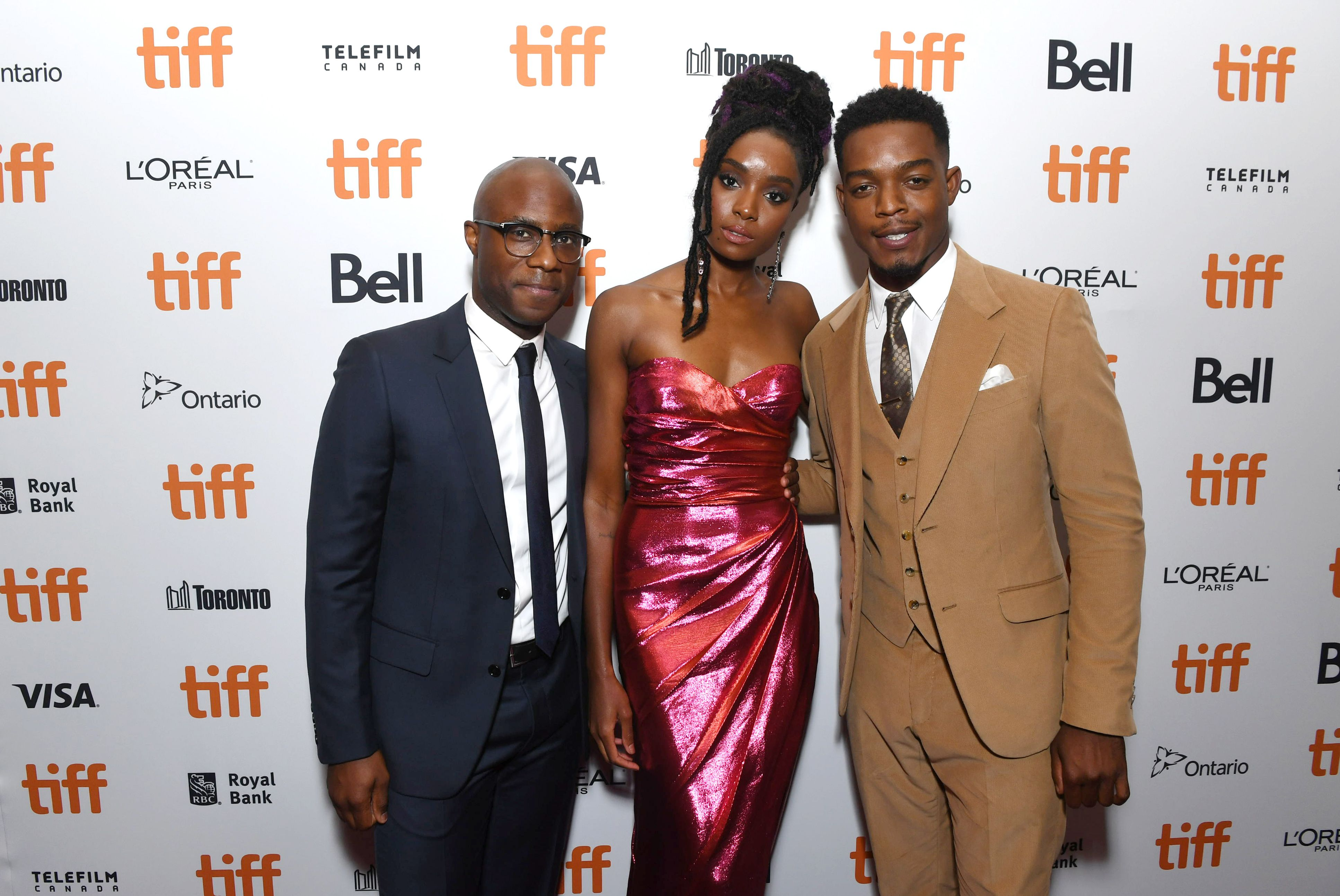 Barry Jenkins, Writer/Director/Producer, KiKi Layne, Stephan James'If Beale Street Could Talk' premiere, Toronto International Film Festival, Canada - 09 Sep 2018