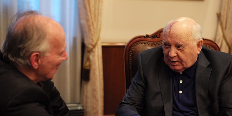 meeting gorbachev review werner herzog finds a hero in soviet