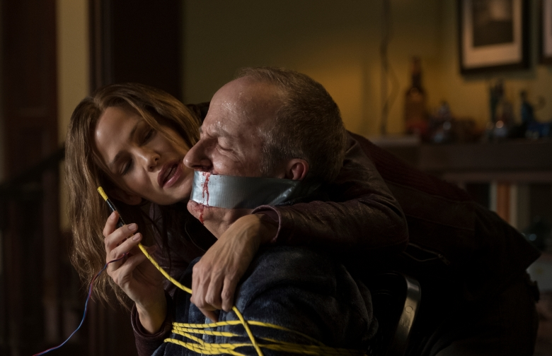 Jennifer Garner and Jeff Harlan star in PEPPERMINT