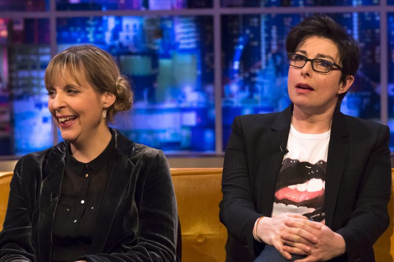 Mel and Sue Great British Bake Off