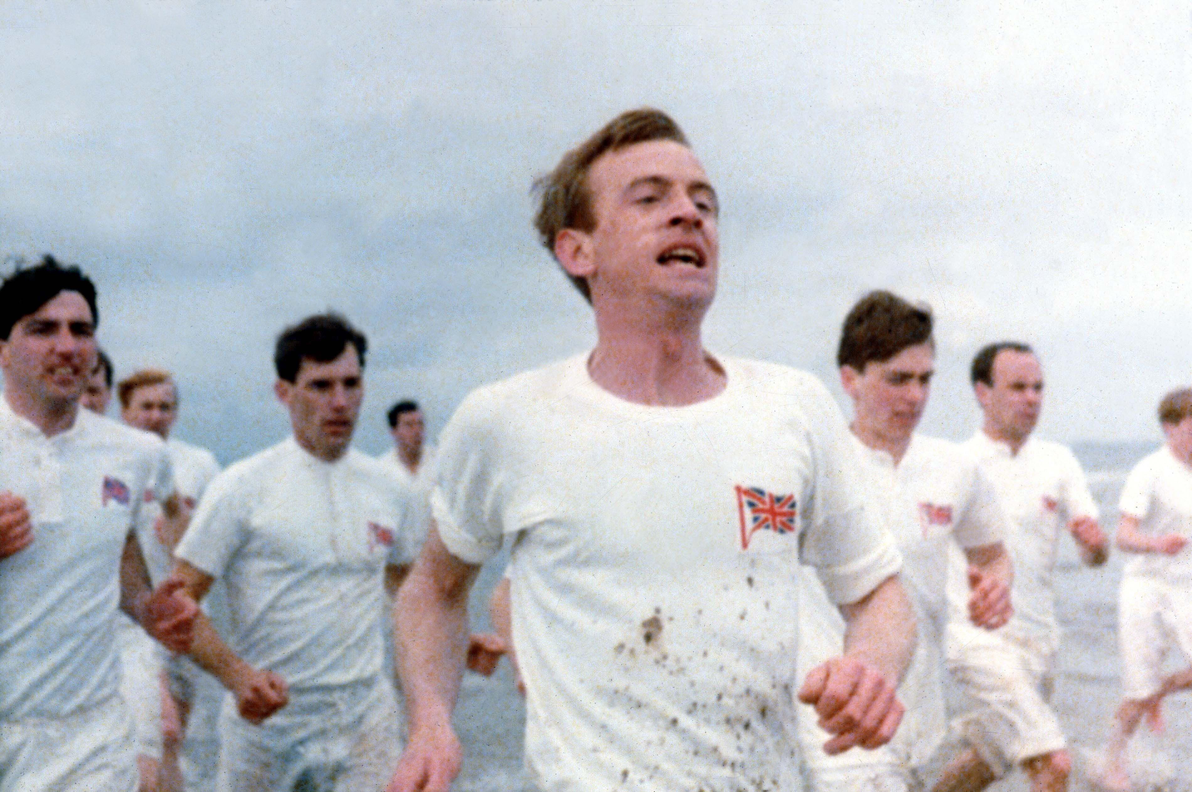 No Merchandising. Editorial Use Only. No Book Cover Usage.Mandatory Credit: Photo by 20th Century Fox/Allied Stars/Enigma/Kobal/REX/Shutterstock (5884751ac) Ian Charleson Chariots Of Fire - 1981 Director: Hugh Hudson 20th Century Fox/Allied Stars/Enigma BRITAIN Scene Still Drama Les Chariots de feu