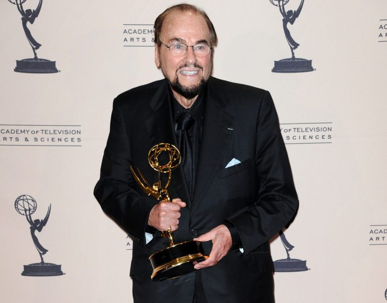 "James Lipton poses backstage with the award for outstanding informational series or special for ""Inside the Actors Studio"" at the Primetime Creative Arts Emmy Awards at the Nokia Theatre L.A. Live, in Los AngelesPrimetime Creative Arts Emmy Awards 2013 - Press Room, Los Angeles, USA - 15 Sep 2013"