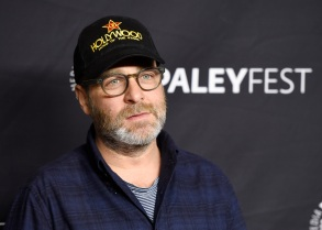 """H. Jon Benjamin, a voice actor in the animated television series """"Bob's Burgers,"""" poses at the 34th Annual Paleyfest at the Dolby Theatre, in Los Angeles34th Annual Paleyfest - Bob's Burgers, Los Angeles, USA - 24 Mar 2017"""