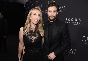 Sam Taylor-Johnson and Aaron Taylor-JohnsonFocus Features - 75th Golden Globes Awards After-Party at The Beverly Hilton, Los Angeles, USA - 07 Jan 2018