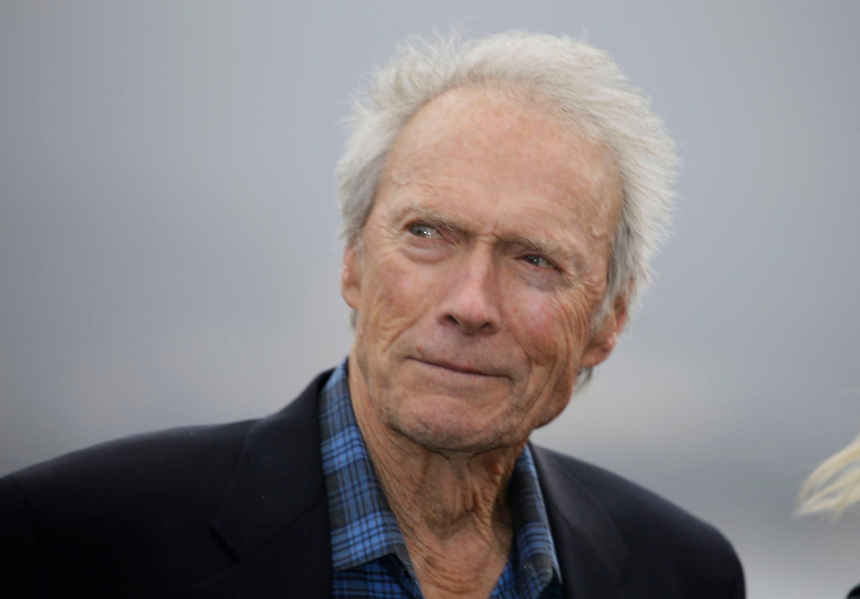 Clint Eastwood on the 18th green of the Pebble Beach Golf Links during the awards ceremony of the AT&T Pebble Beach National Pro-Am golf tournament, in Pebble Beach, CalifGolf, Pebble Beach, USA - 11 Feb 2018