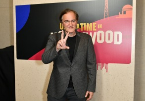Quentin Tarantino'Once Upon a Time in Hollywood' film presentation, Arrivals, CinemaCon, Las Vegas, USA - 23 Apr 2018Sony Pictures Entertainment presentation