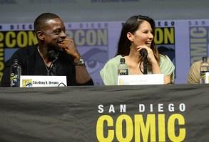 Sterling K. Brown and Olivia Munn'The Predator' film panel, Comic-Con International, San Diego, USA - 19 Jul 2018