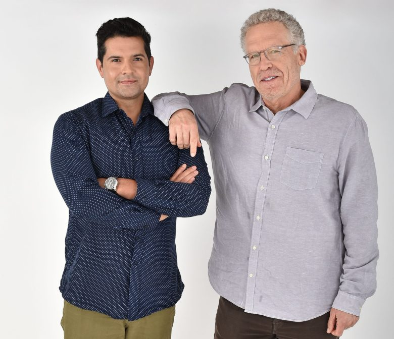 Graham Roland and Carlton Cuse - 'Jack Ryan'Exclusive - Variety Portrait Studio Comic-Con, Day 2, San Diego, USA - 20 Jul 2018